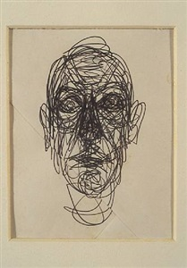 line and surface works on paper by alberto giacometti