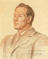 portrait of justin sturm by john steuart curry