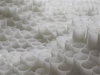 untitled (plastic cups) by tara donovan