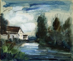 untitled by maurice de vlaminck