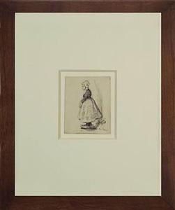 study of a dutch girl by edward hopper