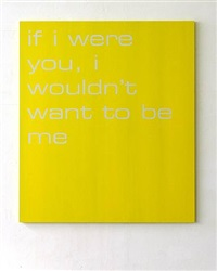 if i were you, i wouldn`t want to be me by tim ayres