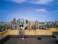 bird's eye view shanghai (2) by weng fen (weng peijun)