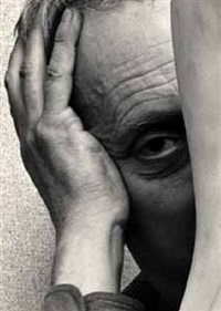 jean arp by arnold newman