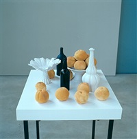 a still life from any angle (peachy) by jane simpson