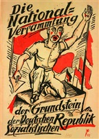 the national assembly: cornerstone of the german socialist republic by max pechstein
