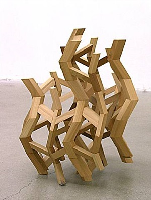 odradek hexagon tower by mary kim