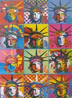 liberty and justice for all by peter max
