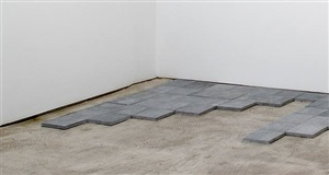blue stone σ 7 by carl andre
