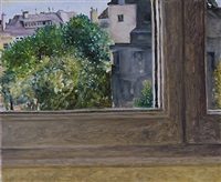 view from rue de la chaise by avigdor arikha