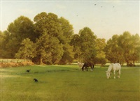 day of rest, wallingford by george dunlop leslie