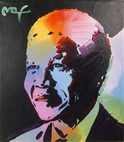 nelson mandela 1 by peter max