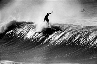 chris cattel, huntington beach by leroy grannis