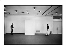 blinky palermo und imi knoebel, düsseldorf, 1975 by dietmar schneider