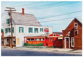 east side diner by john baeder