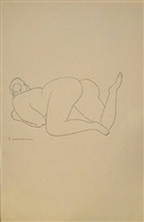 nude by gaston lachaise