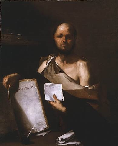 the philosopher by luca giordano