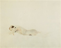 36. asleep, 1973, copyright: pacific sun by andrew wyeth