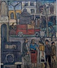 escena de ciudad (city scene) by julio alpuy
