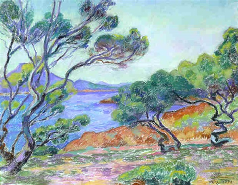 agay by armand guillaumin