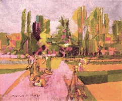 potager à la brunié by jacques villon