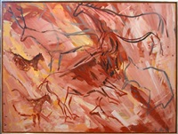 glass wall by elaine de kooning