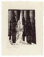 waldkirche 2 by lyonel feininger