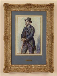 monsieur hamon by maximilien luce