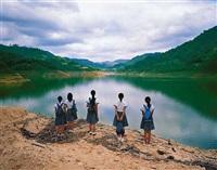 staring at the lake 1 by weng fen (weng peijun)