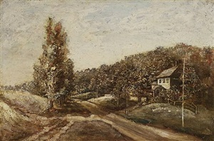 bloomingdale road by ralph albert blakelock