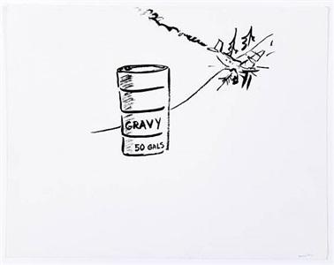 (50 gallons gravy) by william wegman