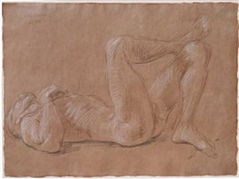 paul reclining on his back by paul cadmus