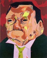 poisoned man by dana schutz
