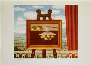 morning awakening by rené magritte