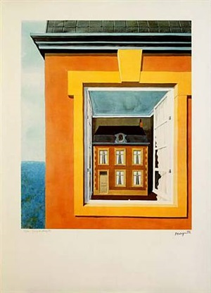 eulogy of the dialectic by rené magritte