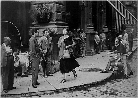 an american girl in italy by ruth orkin