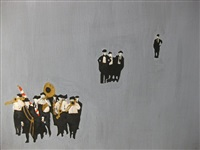 funeral band by rosalyn drexler