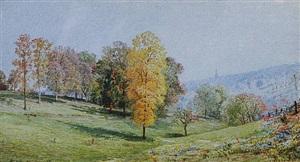 autumn by william trost richards