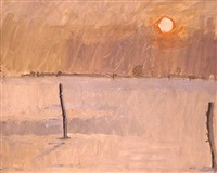 snow on sommerton by euan uglow
