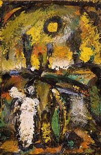 biblical landscape by georges rouault