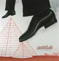 untitled (shoes) by enrique chagoya