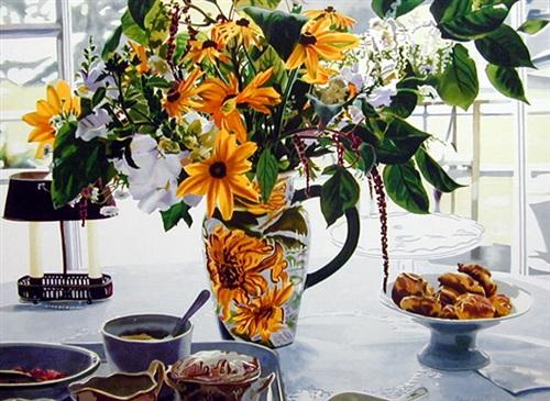 august breakfast, maine by carolyn brady