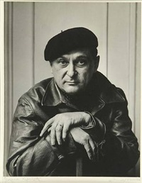 jacques lipschitz by arnold newman