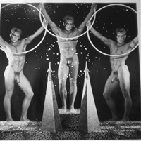 triptych of the spheres i & ii by steven arnold