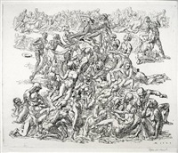 coney island beach #1 by reginald marsh