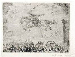 exterminating angel (l'ange exterminateur) by james ensor
