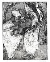 scholars dispute (gelehrtenstreit) by emil nolde