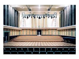 maison de la radio flagey/omroepgebouw flagey v by candida höfer
