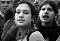 demo antiwar 1 (paris, 2004) by chris marker