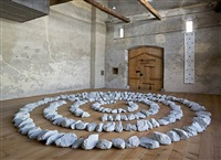 north sew circles by richard long
